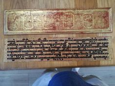 Buy Rare Antique Burmese Kammavaca Prayer Manuscript ~ 19th Century for R17,500.00