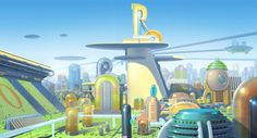 """"""" Visual Development from Meet the Robinsons by Robh Ruppel """""""
