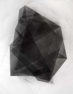 Original Geometric Crystalline Fine art by NATHANIELGIBSON on Etsy, $100.00