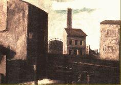 Mario Sironi - Paesaggio urbano, 1926