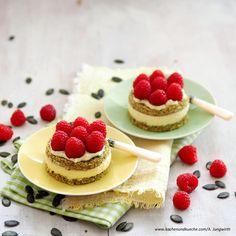 Kürbiskernöl-Törtchen » Kochrezepte von Kochen & Küche Pancakes, Cheesecake, Yummy Food, Breakfast, Desserts, Sweets, Deserts, Chef Recipes, Dessert Ideas
