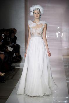 Vestido de novia Reem Acra colección Otoño - Invierno 2014/2015.