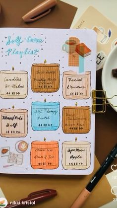Bullet Journal Vision Board, Creating A Bullet Journal, Bullet Journal Notes, Bullet Journal Junkies, Bullet Journal Themes, Bullet Journal Spread, Bullet Journal Inspiration, Journal Ideas, Art Journal Techniques