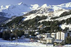 madesimo for skiing Ski Weekends, Alps, Mount Everest, Westerns, Skiing, Mountains, Places, Nature, Hotels