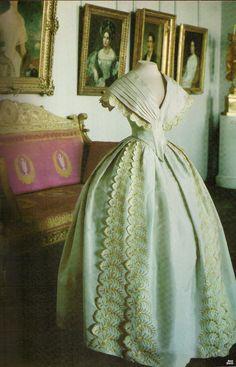 Russian 1842 day dress