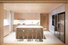 House Tour: Japanese minimalist apartment home in Singapore by Pencil Office