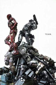 Iron Man ,  War Machine... Iron Monger DOWN ... °°
