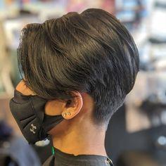 Pixie Haircut Styles, Pixie Bob Haircut, Pixie Haircut For Thick Hair, Haircuts For Curly Hair, Pixie Styles, Thin Hair, Long Pixie Haircuts, Pixie Cut With Undercut, Pixie Cut Hairstyles
