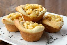 Mac & Cheese Cups ... you know you want one....