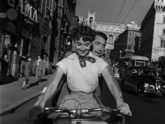 Roman Holiday - A sheltered princess (Audrey Hepburn) escapes from her minders in Rome and falls in love with a charming American news reporter (Gregory Peck). Movies that make you want to travel on GlobalGrasshopper.com