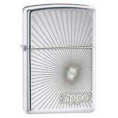 Starburst High Polish Chrome. High Quality Official Zippo Windproof LighterMade in USALifetime GuaranteePackaged in an Environmental Friendly Gift Box