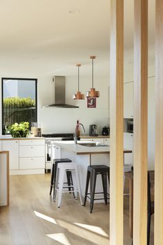 Where Beauty Meets Function.   Next-generation architecture. Setting the standard for energy efficiency and passive house design. Energy Efficiency, Passive House Design, Steel House, Architect House, Sustainable Architecture, New Builds, Beautiful Space, Joinery