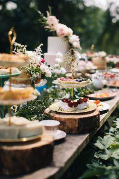 Wedding Buffet Food, Wedding Reception Food, Wedding Desserts, Wedding Catering, Wedding Blog, Wedding Ideas, Afternoon Tea Wedding Reception, Garden Party Wedding, Brunch Wedding