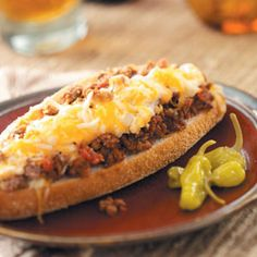 Baked Lasagna in a Bun Recipe. This is extremely good!!