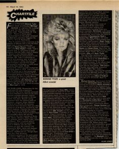 #bonnietyler #press #germany #music #young #gaynorhopkins www.the-queen-bonnie-tyler.com