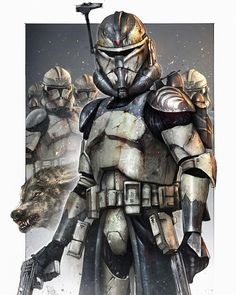 The Wolfpack was a clone trooper squad in the Grand Army of the Republic's 104th Battalion that served under Jedi General Plo Koon and…