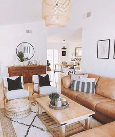 helpful tips for creating bright living room ideas - interior designs -. - helpful tips for creating bright living room ideas - Living Room Interior, Home Living Room, Apartment Living, Living Room Designs, Living Spaces, Bright Living Room Decor, Tan Sofa Living Room Ideas, Brown Leather Couch Living Room, Living Room Set Ups