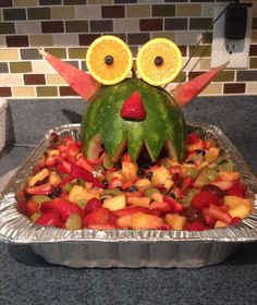 Monster Fruit Tray