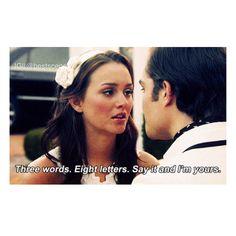 My fav gossip girl quote!
