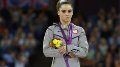 McKayla Maroney this girl gets my vote for all time poor sport/sore loser award...if I had her on my team she would be gone after this display!