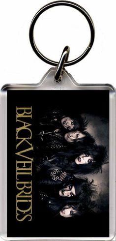 Black Veil Bride - Plastic Key Ring A