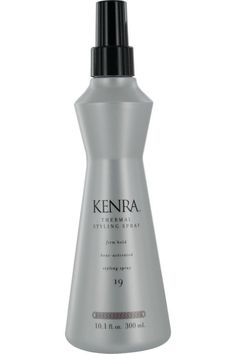kenra by kenra thermal styling spray 19 firm hold heat activated styling spray oz for Unisex Protective Hairstyles, Curled Hairstyles, Professional Hairstyles, Professional Hair Products, Wet Hair, Curly Hair, Smooth Hair, Shiny Hair, Parfum Spray
