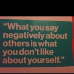 Must remember this when I want to gossip or when someone's putting me on blast.