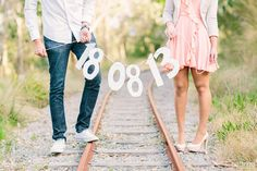 27 Cute Save the Date Photo Ideas Pre Wedding Poses, Wedding Props, Pre Wedding Photoshoot, Wedding Blog, Wedding Favors, Unique Save The Dates, Wedding Save The Dates, Save The Date Fotos, Engagement Photography