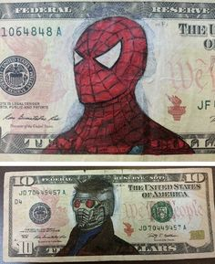 Artist Defaces Money… And Probably Just Increased Its Monetary Value