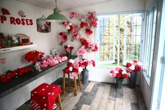 Coming Up Roses in our very own Artisan Retreat at the 2013 RHS Chelsea Flower Show. (c) @Zoe James Barling #cathkidston #CK20yrs #ComingUpRoses