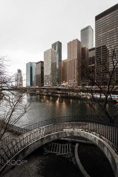 Chicago River & Architecture by Kaitlyn McLachlan. Pinned by #CarltonInnMidway - www.carltoninnmidway.com