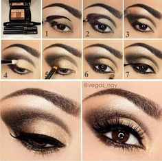 Gold Smokey Eye Makeup How To Do Smokey Eye Makeup Top 10 Tutorial Pictures For 2019 Gold Smokey Eye Makeup Gold And Black Smokey Eye Makeup Tutorial Glittery Smokey Eye. Gold Smokey Eye Makeup How To Do Smokey Eye Makeup Top 10 Tutori. Cat Eye Makeup Tutorial, Smokey Eye Makeup Tutorial, Eye Makeup Steps, Makeup Tips, Makeup Tutorials, Makeup Ideas, Makeup Geek, Makeup Addict, Makeup Pictorial