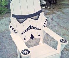 Storm Trooper Adirondack Chair