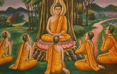 The Buddha, the dharma, the sangha—these are known as the three jewels in Buddhism. Buddhism For Beginners, Applied Behavior Analysis, Buddhist Teachings, Bodhi Tree, Take Shelter, Behavioral Science, True Nature, Guided Meditation, Spirituality