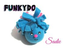 Fleece Catnip Toy, Funkydo Sadie by KittyJoyCatToys