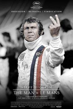 Steve McQueen: The Man & Le Mans Movie Poster