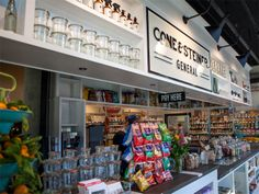 Cone & Steiner in Capitol Hill, Seattle  This neighborhood general store aims to fill the gap between mini-mart and gourmet market.