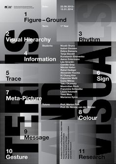 Terms and Visuals - Graphis