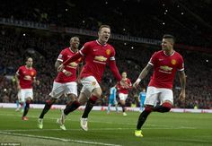 Man United 2-0 Sunderland: Rooney answers calls for reliable striker #dailymail