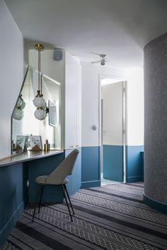 Luxury interior design projects |Retro style of the Panache Hotel in Paris |www.bocadolobo.com #interiordesignprojects #moderninteriors