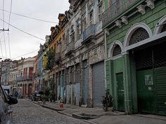 Gamboa, área portuária do Rio de Janeiro, Brasil.