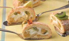 Könnyű egzotikus tekercs Camembert Cheese, Muffin, Dairy, Food, Muffins, Meals, Cupcakes, Yemek, Eten