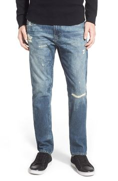 AG 'Nomad' Skinny Fit Jeans (16 Years Brittle Reserved) available at #Nordstrom