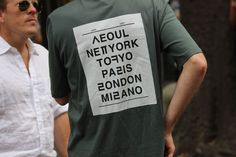 Milan-SS15-Street-Style-Part-4-17 t-shirt from NOHANT http://www.the-nohant.com/