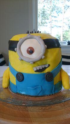 Minion Minions, Cake, Desserts, Character, Food, Tailgate Desserts, Deserts, The Minions, Kuchen