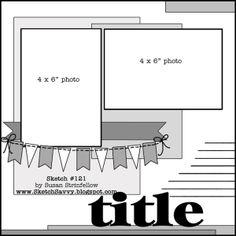 NSD 2014 Challenge #2 - Pick a Sketch - disneyscrappers
