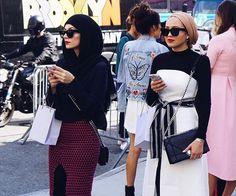 Maria Alia Street Hijab Fashion, Muslim Fashion, Modest Fashion, Girl Fashion, Fashion Outfits, Maria Alia, Muslimah Clothing, Hijab Fashion Inspiration, Mode Hijab
