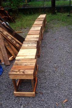 Pallet Bar Stools - 70+ Pallet Ideas for Home Decor   Pallet Furniture DIY - Part 5