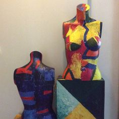 Painted mannequins- Augusto Zerbi- www.augustozerbi.com My Works, Painting, Art, Art Background, Painting Art, Kunst, Gcse Art, Paintings, Painted Canvas