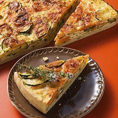Zucchini-Käse-Wähe Rezept | Küchengötter